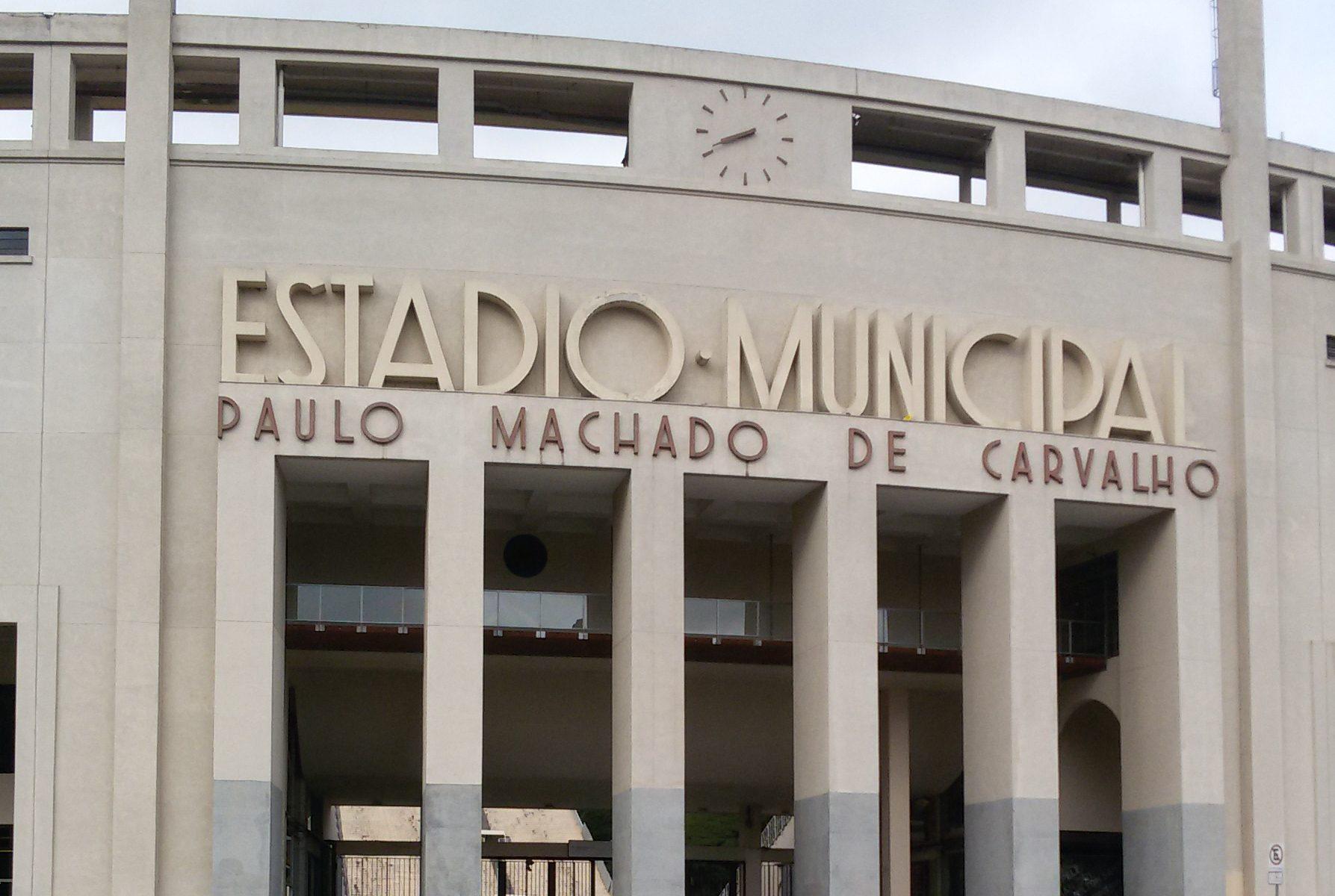 Estádio Paulo Machado de Carvalho - Pacaembu - São Paulo - Brasil